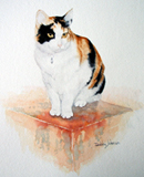 "Pet Portrait - Watercolour 10"" x 12"""
