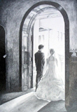 Wedding in Graphite